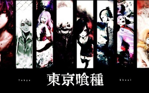 Anime Tokyo Ghoul Ayato Kirishima Juuzou Suzuya Rize Kamishiro Ken Kaneki Touka Kirishima Uta Shū Tsukiyama Hinami Fueguchi HD Wallpaper | Background Image