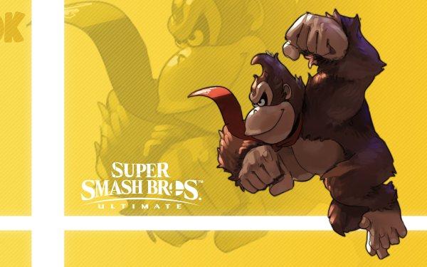 Video Game Super Smash Bros. Ultimate Donkey Kong HD Wallpaper | Background Image