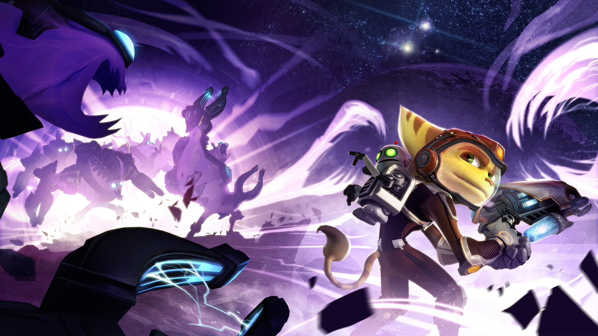 Ratchet Clank Into The Nexus Hd Wallpaper Background Image