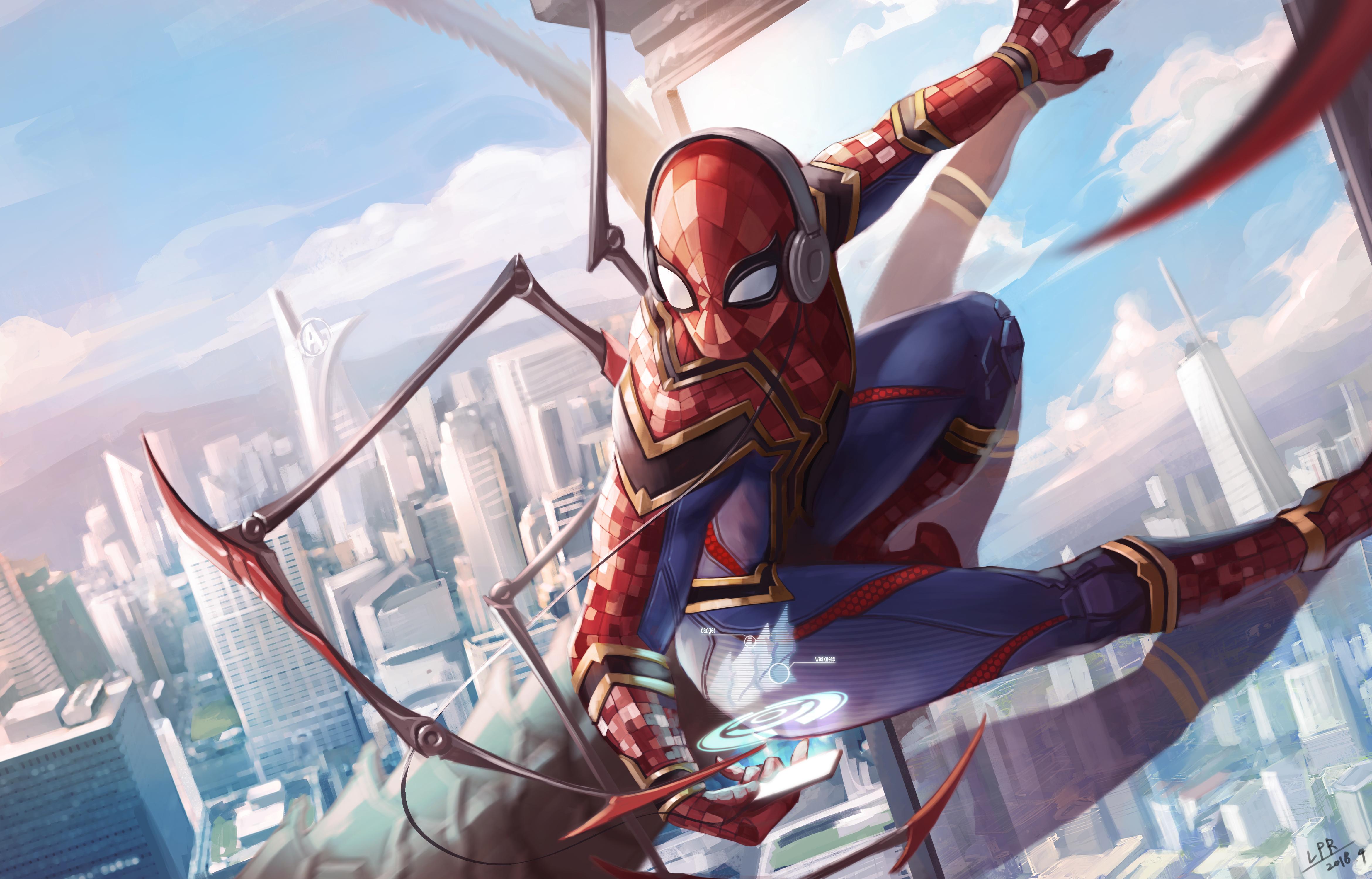 Spider Man 4k Ultra Hd Wallpaper Hintergrund 4681x3000