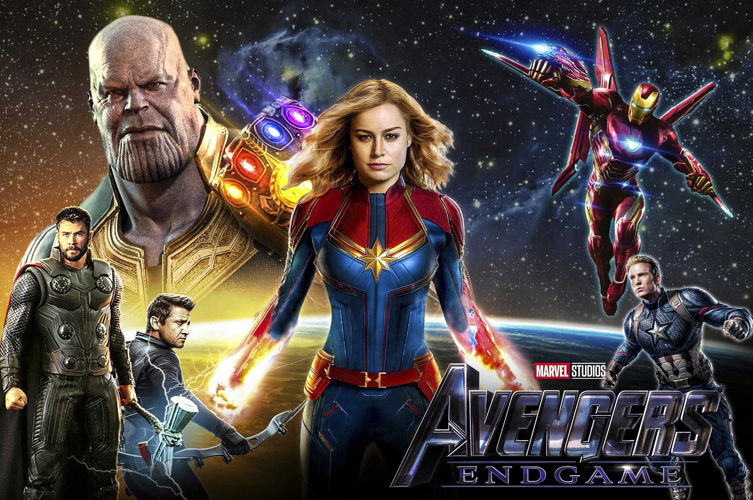 Avengers Endgame Fond D écran Hd Arrière Plan 2584x1716