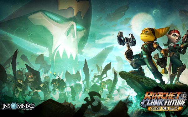Video Game Ratchet & Clank Future: Quest For Booty Ratchet & Clank Ratchet Clank HD Wallpaper | Background Image