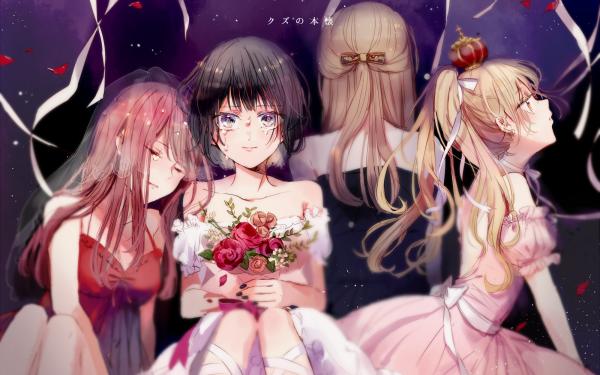 Anime Kuzu no Honkai Hanabi Yasuraoka Sanae Ebato Akane Minagawa Noriko Kamomebata HD Wallpaper   Background Image