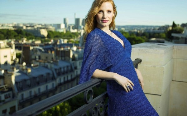 Celebrity Jessica Chastain Actresses United States Actress Redhead HD Wallpaper   Background Image