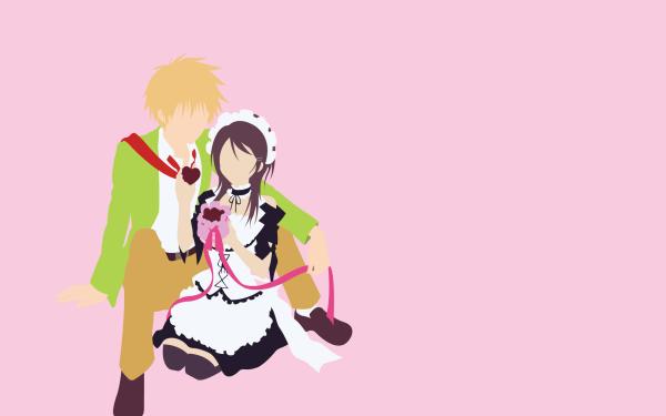Anime Maid Sama! Takumi Usui Misaki Ayuzawa HD Wallpaper | Background Image