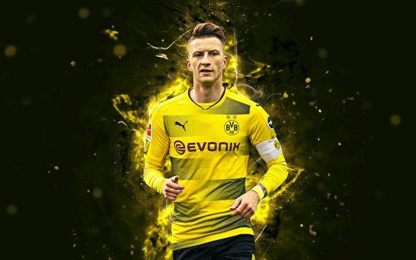 Sports Marco Reus Soccer Player German Borussia Dortmund HD Wallpaper | Background Image