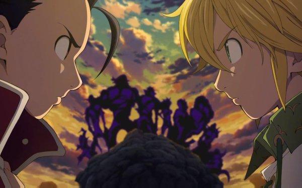 Anime The Seven Deadly Sins Meliodas Zeldris HD Wallpaper   Background Image