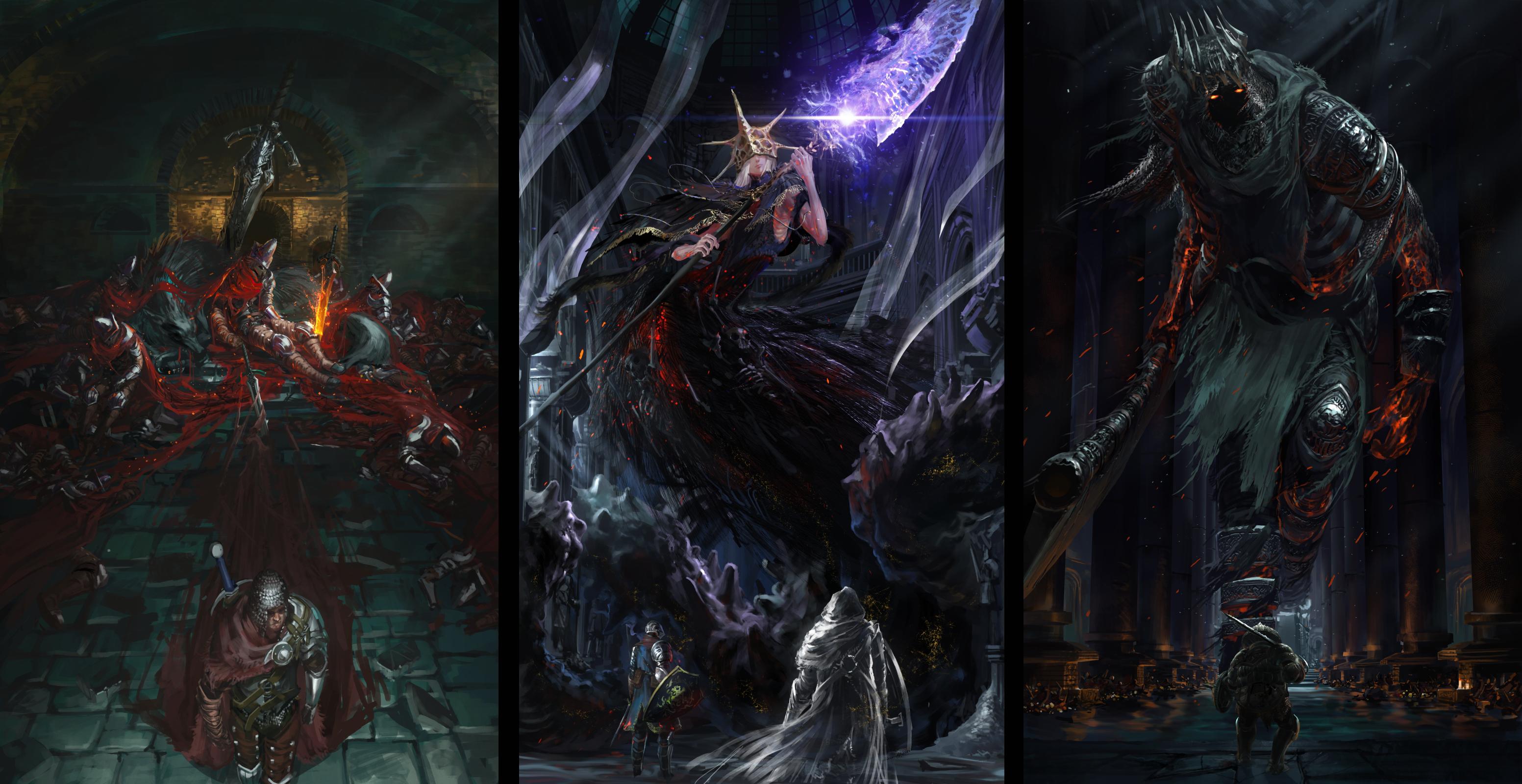 Dark Souls Hd Wallpaper Background Image 3105x1600 Id 982862