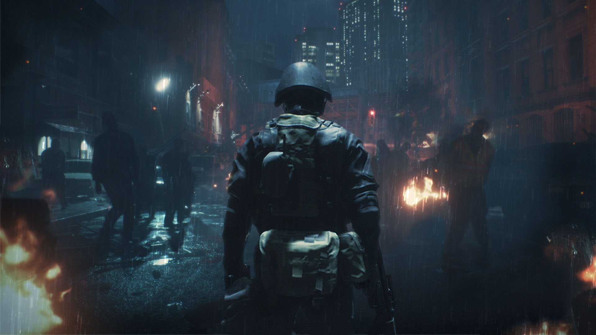 Resident Evil 2 2019 Hunk Hd Wallpaper Background Image