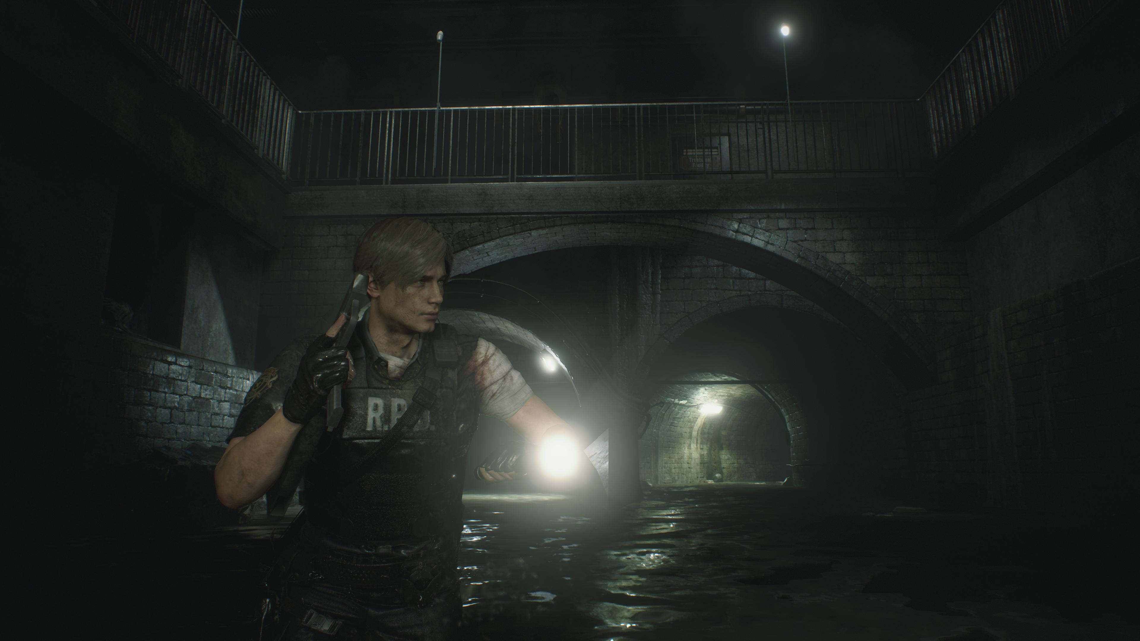 Resident Evil 2 2019 Leon S Kennedy 4k Ultra Hd Wallpaper