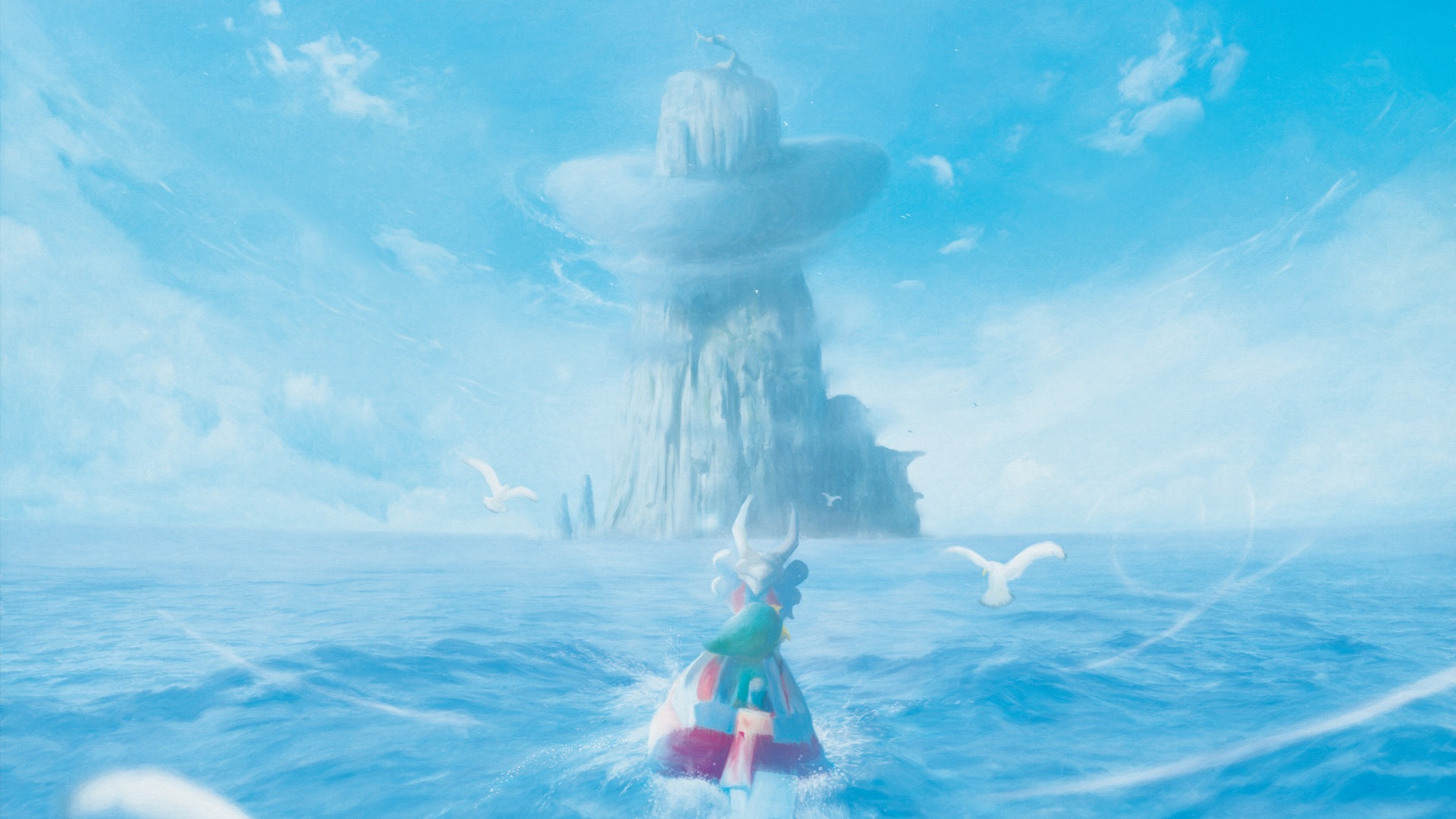 The Legend Of Zelda The Wind Waker Hd Wallpaper Background
