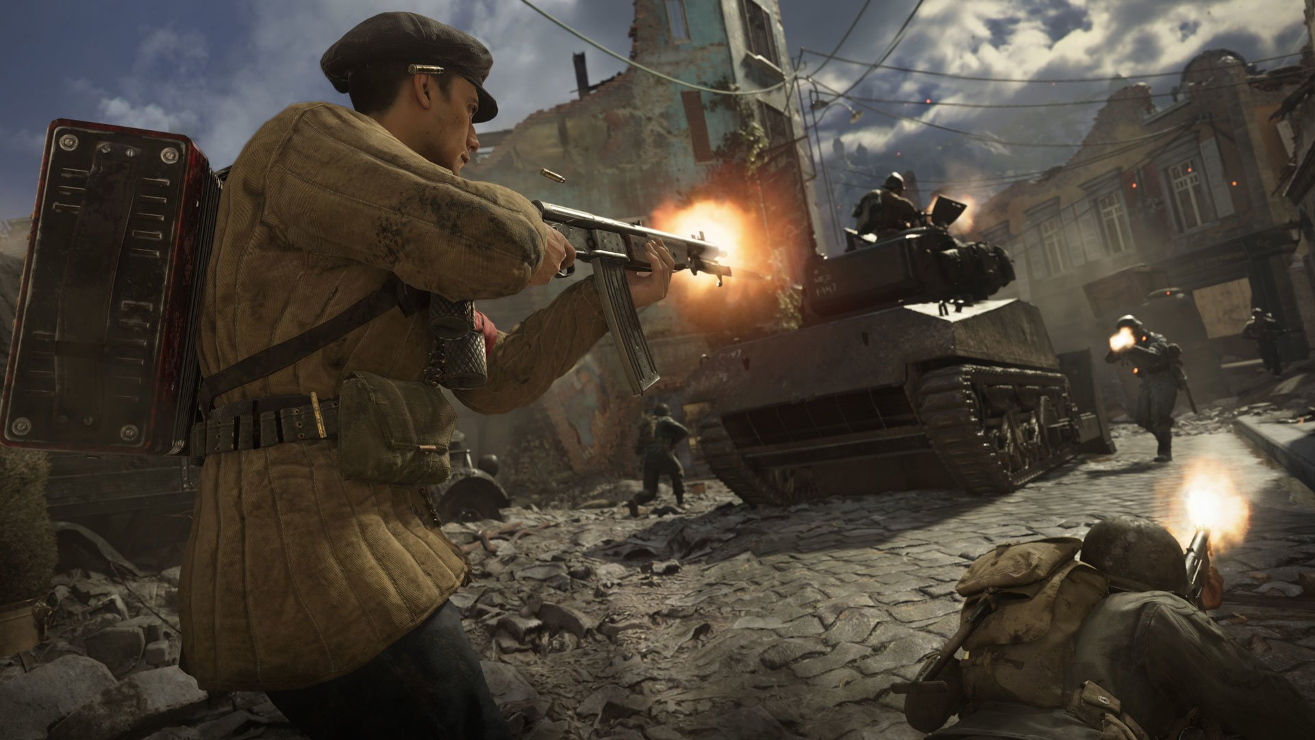 Call Of Duty Wwii Hd Wallpaper Background Image 1920x1080