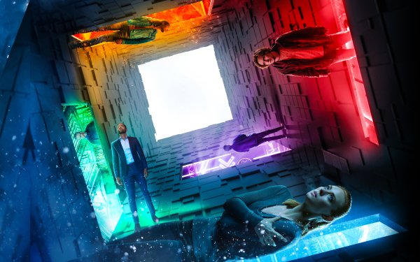 Movie Escape Room Deborah Ann Woll Tyler Labine Jay Ellis Taylor Russell Logan Miller Nik Dodani HD Wallpaper | Background Image