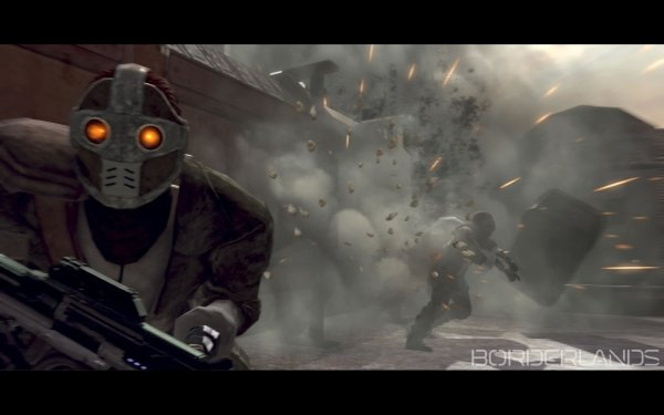 Video Game Borderlands Mass Effect 2 HD Wallpaper   Background Image