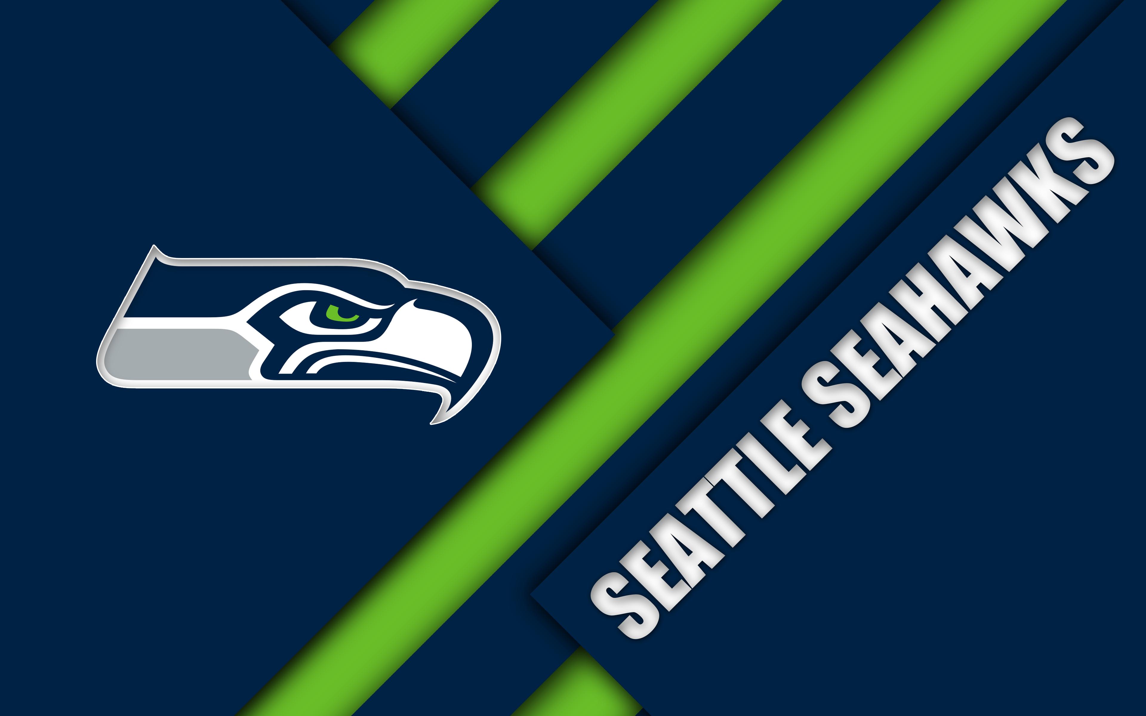 Seattle Seahawks 4k Ultra Hd Wallpaper Background Image 3840x2400 Id 988622 Wallpaper Abyss