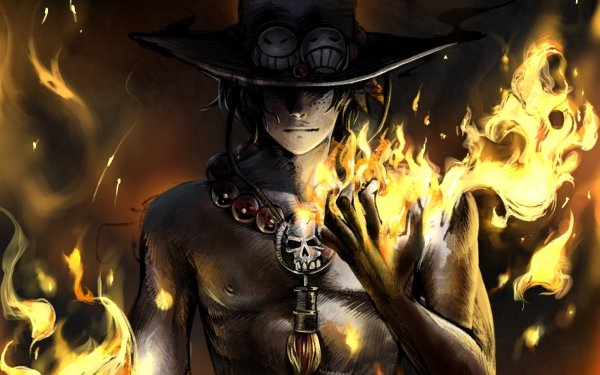 Anime One Piece Portgas D. Ace HD Wallpaper | Background Image