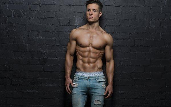 Men Model Muscle HD Wallpaper | Background Image