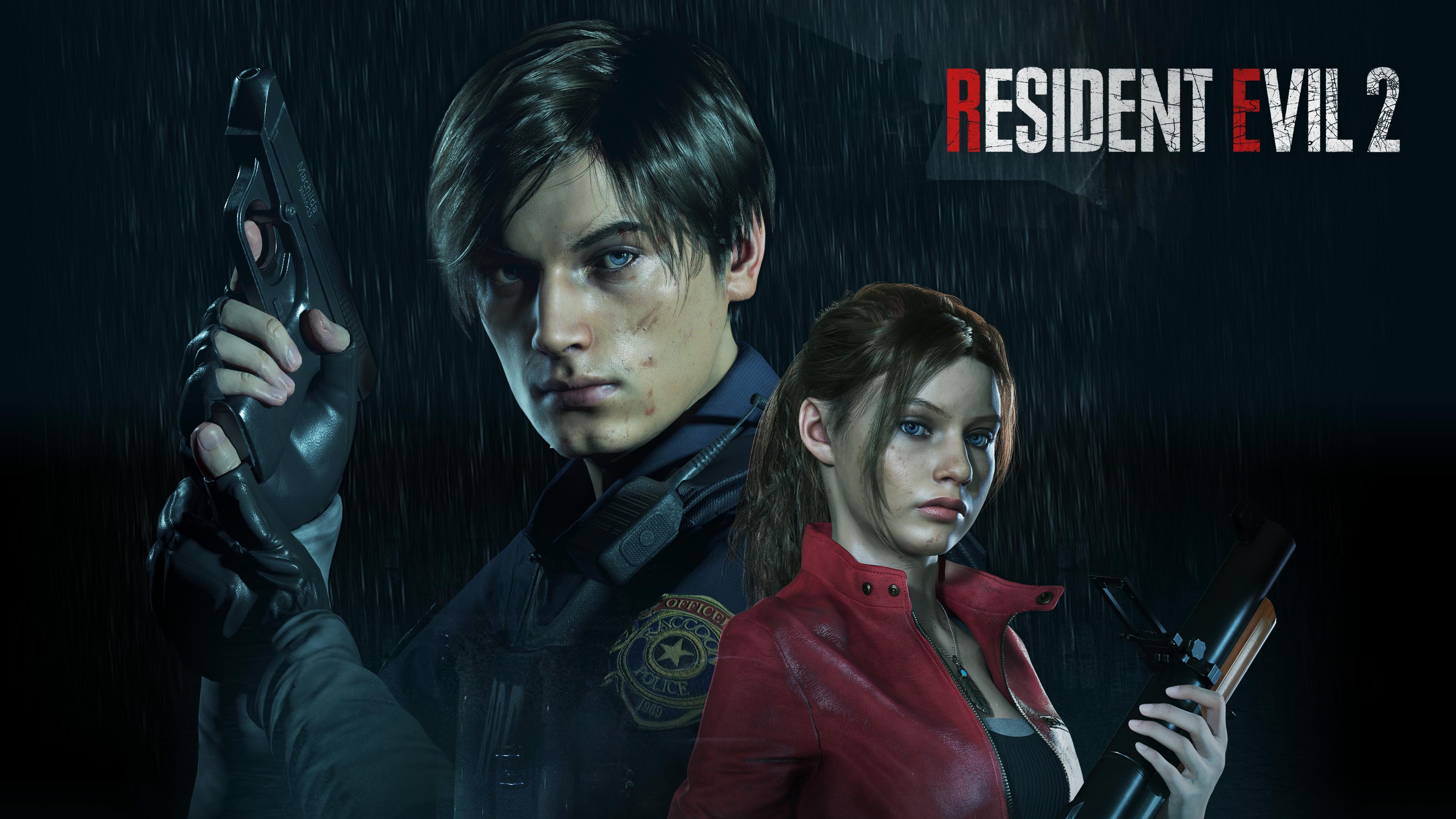 Resident Evil 2 2019 4k Ultra Hd Wallpaper Background Image