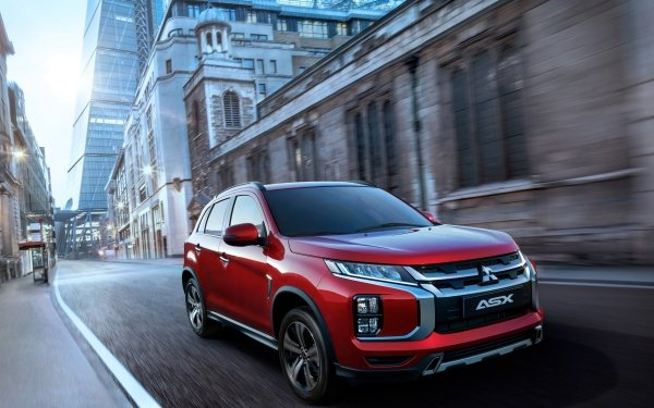 Vehicles Mitsubishi ASX Mitsubishi Car Red Car SUV HD Wallpaper | Background Image