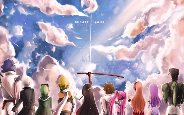 Anime Akame ga Kill! Akame Tatsumi Mine Sheele Bulat Lubbock Leone Chelsea Susanoo Night Raid HD Wallpaper | Background Image