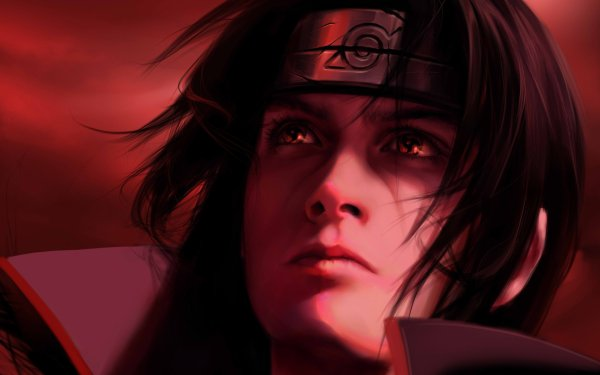 Anime Naruto Uchiha Clan Itachi Uchiha Sharingan Mangekyō Sharingan Akatsuki HD Wallpaper   Background Image