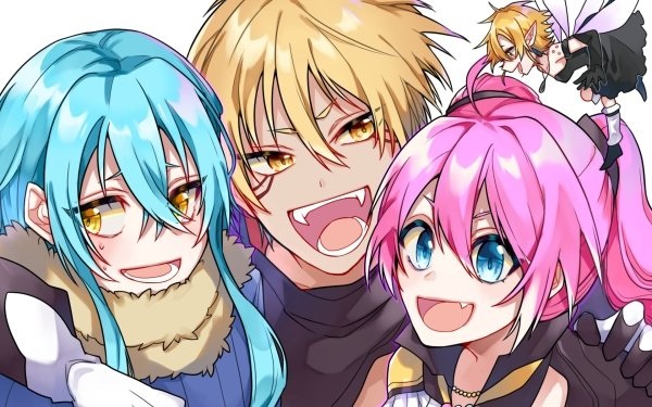 Anime That Time I Got Reincarnated as a Slime Rimuru Tempest Milim Nava Ramiris HD Wallpaper   Background Image