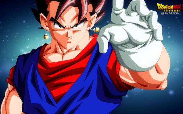 Anime Dragon Ball Z Dragon Ball Vegetto HD Wallpaper | Background Image