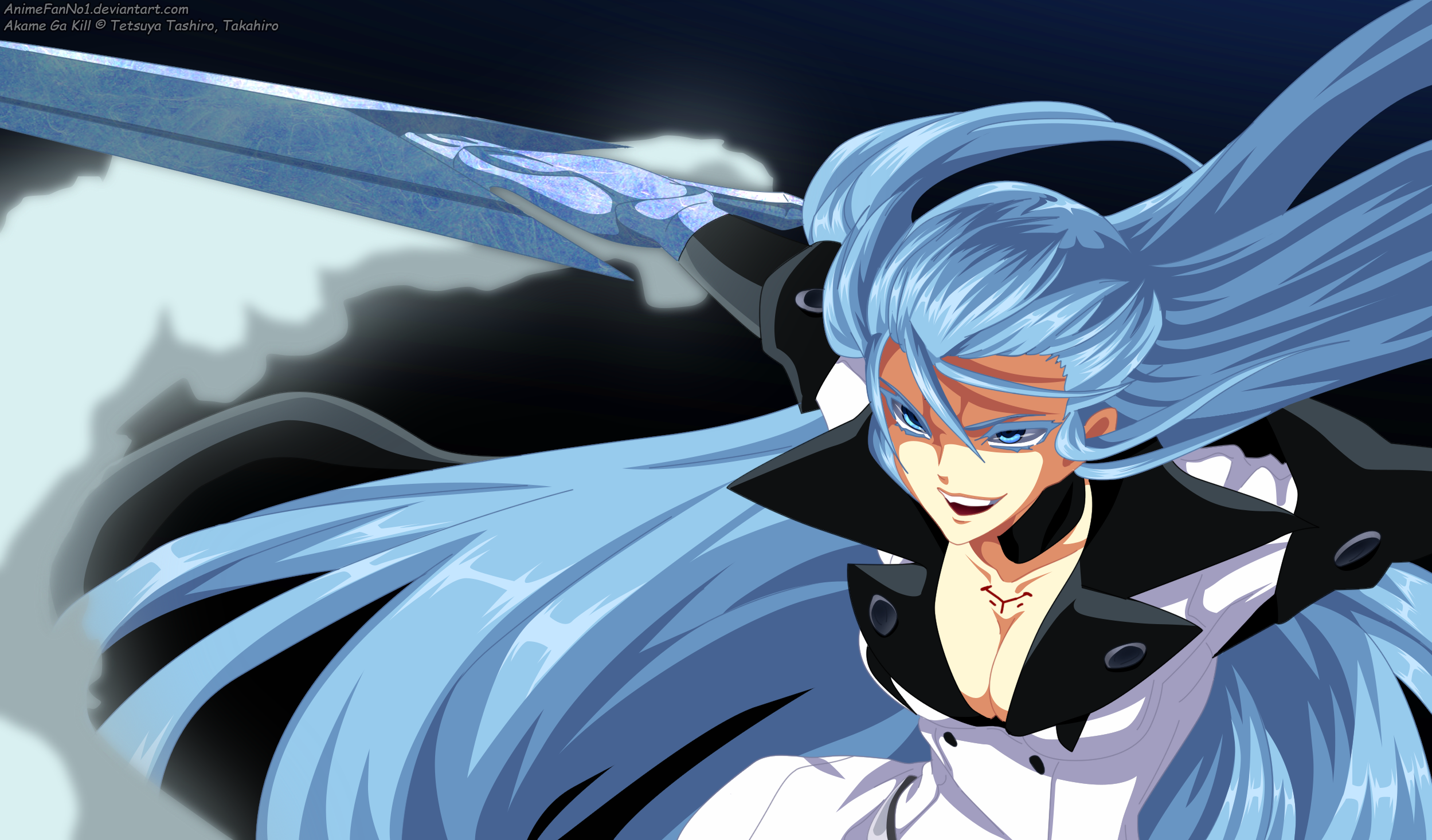 Esdeath Hd Wallpaper Background Image 2498x1467 Id 995435