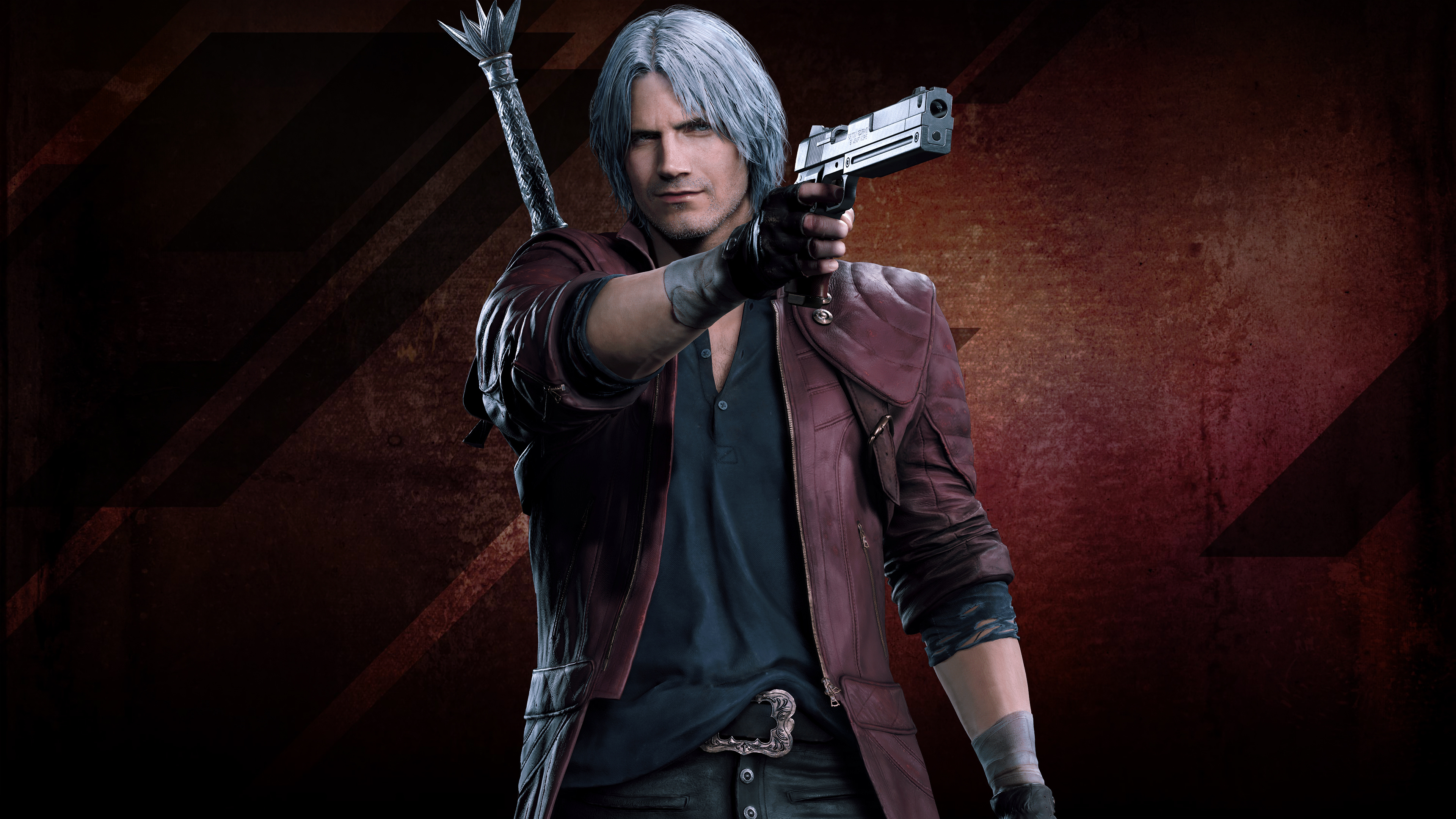 Devil May Cry 5 Dante 4k Ultra Hd Wallpaper Background Image