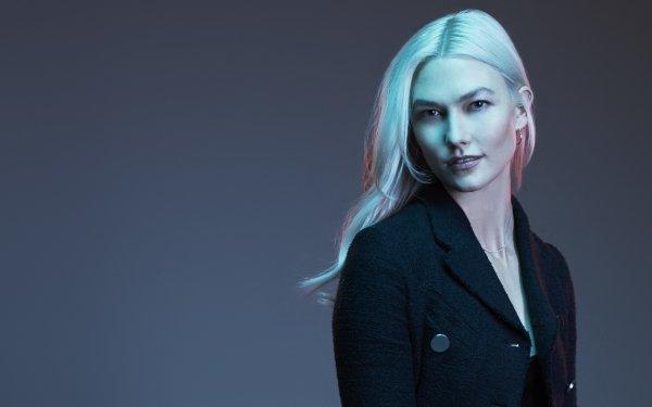 Celebrity Karlie Kloss Models United States Model American White Hair HD Wallpaper | Background Image