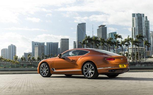 Vehicles Bentley Continental GT  Bentley Bentley Continental Car Luxury Car Orange Car HD Wallpaper | Background Image